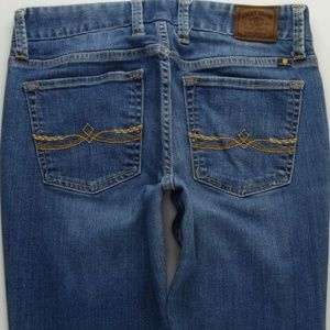 Lucky Brand The Sweet Jean Straight Women's 4 A074